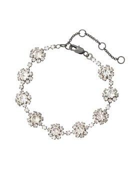 Emeli Floral ChainBracelet by Olivar Bonas