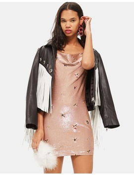 Cowl Bodycon Dress by Topshop