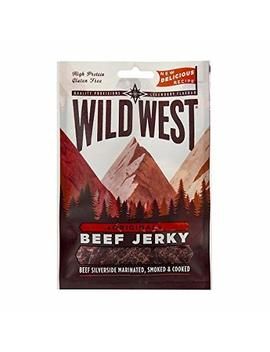 Wild West Beef Jerky Original 25g (Pack Of 12) by Amazon