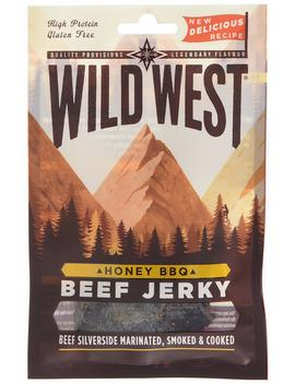 Wild West Honey Barbeque Beef Jerky 25 G (Pack Of 12) by Amazon