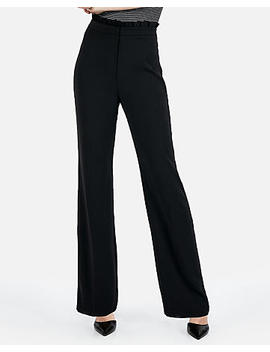 Ruffle Top Wide Leg Pant by Express