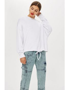 **Slash Back Sweatshirt By Boutique by Topshop