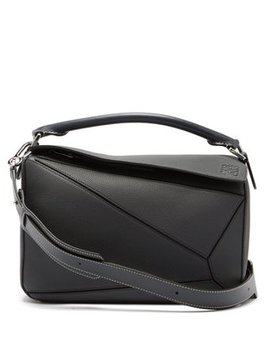 Puzzle Leather Cross Body Bag by Loewe
