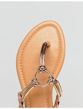 Park Lane Flat Sandals by Shoes