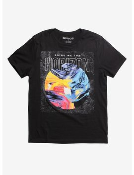 Bring Me The Horizon Paint Swirl T Shirt by Hot Topic