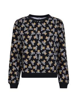 Bear Print Underwear Sweatshirt by Moschino