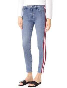 Mattie High Waist Tuxedo Skinny Jeans by Siwy