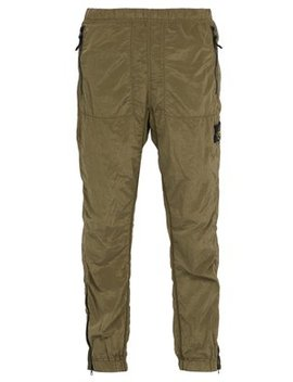 Slim Fit Nylon Track Pants by Stone Island