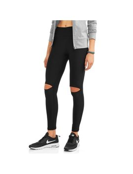 N.Y.L. Sport Women's Active Knee Slit Performance Legging by N.Y.L. Sport
