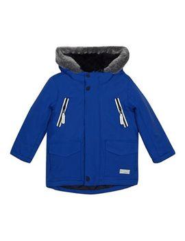J By Jasper Conran   Boys' Blue Waterproof 3 In 1 Jacket by J By Jasper Conran