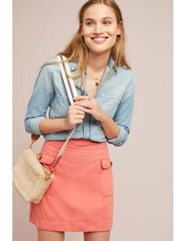 Utility Mini Skirt by Anthropologie