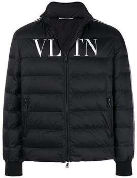 Valentino Gesteppte Daunenjacke Mit Logo Home Herren Valentino Kleidung Daunenjacken Jacke Mit Reißverschluss Gesteppte Daunenjacke Mit Logo by Valentino
