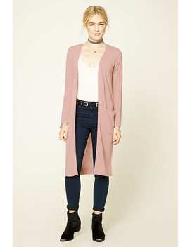 Cardigan Devant Ouvert by Forever 21
