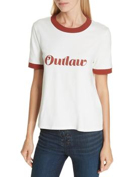 Mills Outlaw Ringer Tee by Veronica Beard