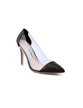 Rabie Pvc And Patent Leather High Heel Pumps by Jessica Buurman