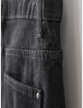 Re Design Jeans In Black by Reserved