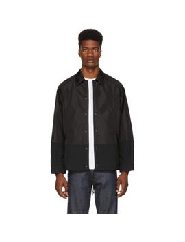 Black Nylon Oxford Jacket by Comme Des GarÇons Homme