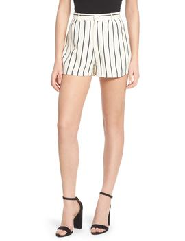 Jordy Stripe High Waist Shorts by Lovers + Friends