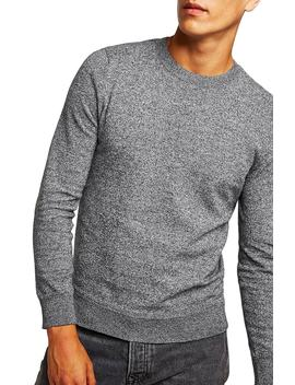 Classic Fit Twist Crewneck Sweater by Topman