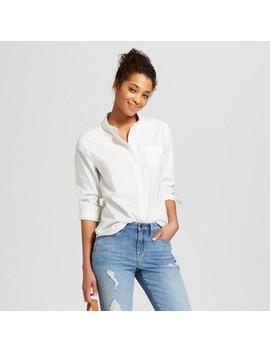 Women's Long Sleeve Camden Button Down Shirt   Universal Thread™ by Shop All Universal Thread™
