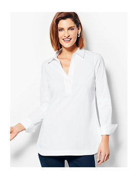 Poplin Tunic Top by Talbots