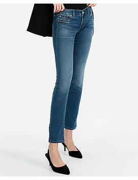 Low Rise Stretch+ Performance Super Skinny Jeans by Express