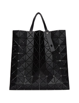 Black Lucent Tote by Bao Bao Issey Miyake