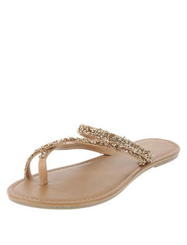 Women's Twinkle Flip Flop Sandal by Learn About The Brand Montego Bay Club