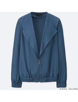 Women Hpj Layered Blouson by Uniqlo