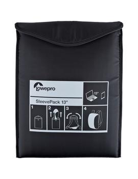 Sleeve Pack 13 Packable Laptop Sleeve (Black) by Lowepro