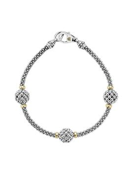 'caviar Forever' Ball Station Bracelet by Lagos