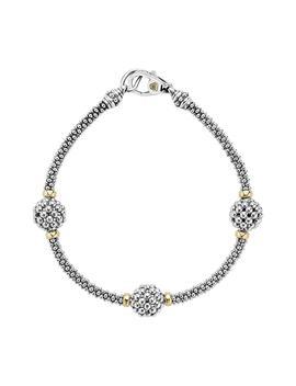 'caviar Forever' Ball Station Bracelet by Lagos