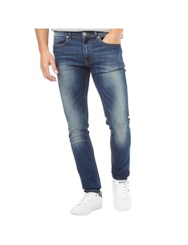 Firetrap Mens Deadly 02 Skinny Fit Jeans Dark Wash by Mand M Direct
