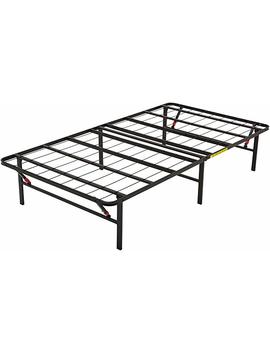 Amazon Basics Platform Bed Frame, Black, Twin X Large by Amazon
