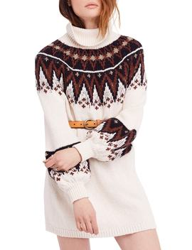 Scotland Turtleneck Sweater Minidress by Free People