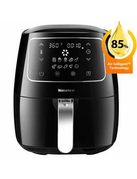 Air Fryer Xl, Willsence Air Fryers 3.7 Quart 10 In 1 Intelligent Electric Oilless Hot Air Fryer, Cooker With Cookbook And 50 Online Recipes, Touch Screen Control, Dishwasher Safe, Metal Inner Housing by Willsence