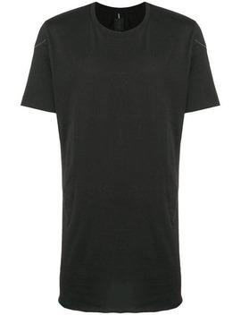 Thom Kromshort Sleeve Fitted T Shirthome Men Thom Krom Clothing T Shirts Ayero Sneakerstailored Fitted Trousersshort Sleeve Fitted T Shirt by Thom Krom