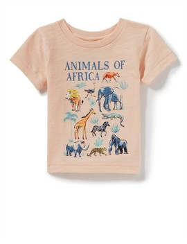 Baby Animals Of Africa Tee by Peek