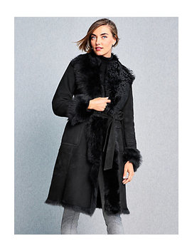 Toscana Shearling Coat by Talbots