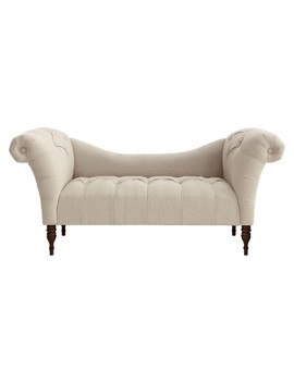 Button Tufted Chaise Settee   Threshold™ by Shop This Collection