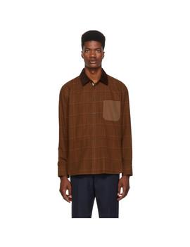 Brown Chore Shirt by Rag & Bone