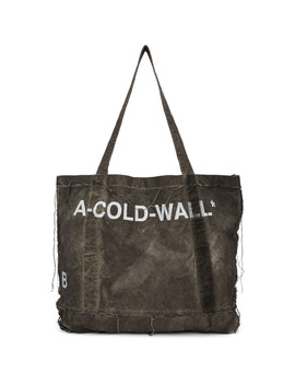 Grey Canvas Tote by A Cold Wall*
