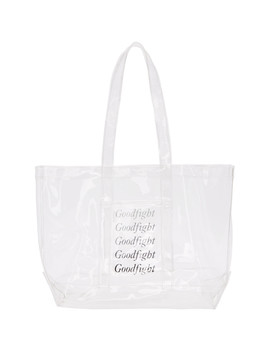 Transparent Double Pane Tote by Goodfight
