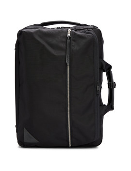 Black Convertible 3  Way Briefcase Backpack by Master Piece Co