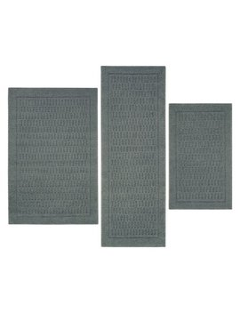 Mainstays Dylan Nylon 3 Piece Accent Rug Set, Multiple Colors by Mainstays