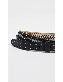 Smooth Chain And Studded Belt by Rebecca Minkoff