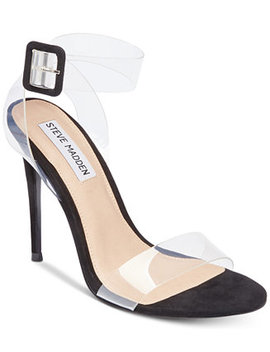 Women's Seeme Lucite Dress Sandals by Steve Madden
