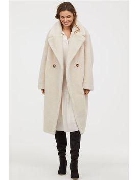 Kabát ZUmelej Kožušiny by H&M
