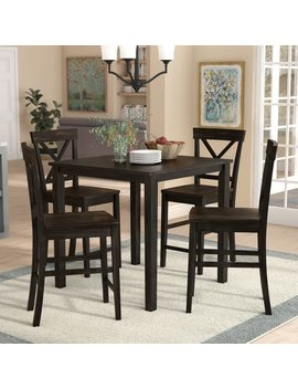 Alcott Hill Reeves 5 Piece Counter Height Dining Set & Reviews by Alcott Hill