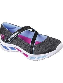 S Lights Litebeams Spin N Sparkle Mary Jane by Skechers